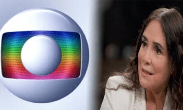 Rede Globo pede suspensão de vínculo com Regina Duarte