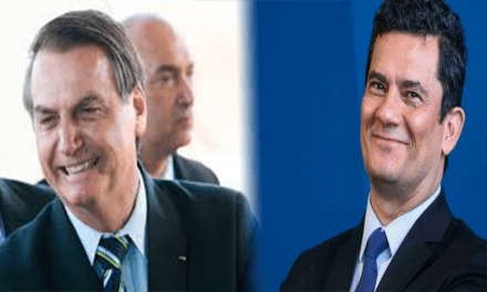 Presidente Bolsonaro descarta a divisão do Ministério de Sérgio Moro