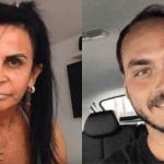 """Gretchen dispara contra Carlos Bolsonaro, e diz que ele é está apaixonado por Thammy : """"É incrível como você é apaixonado pelo meu filho"""""""