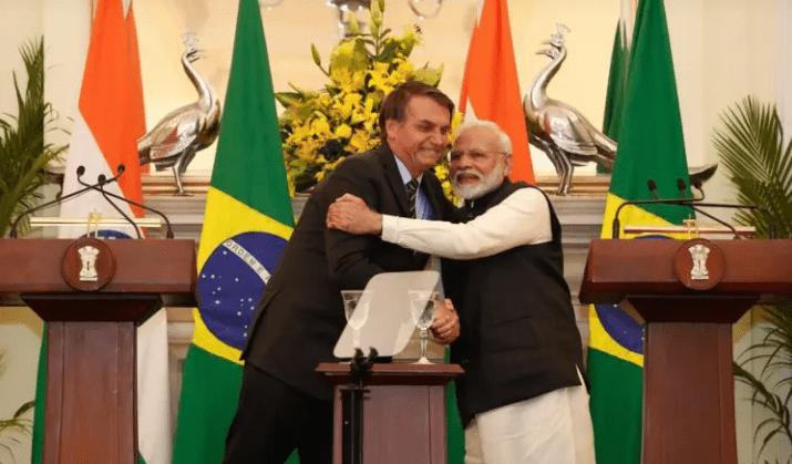 Emocionante: Índia promove celebração oficial formidável ao receber Bolsonaro