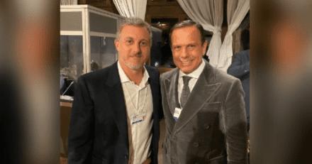 """Jornalista do jornal 'O Globo' chama João Doria e Luciano Huck de """"próximos presidentes do Brasil"""""""