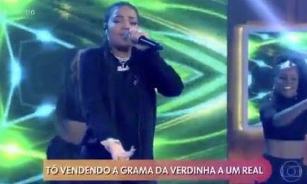 Polícia Federal e Procuradoria-Geral da República são acionadas por música de Ludmilla na Globo
