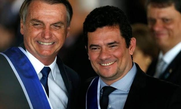 Vídeo: Durante evento, Bolsonaro afirma que Moro irá assumir a presidência em 2027