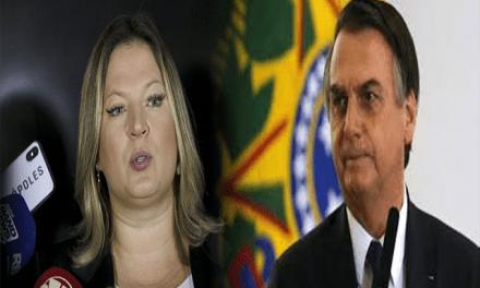 Joice Hasselmann acusa Bolsonaro de estelionato eleitoral e diz que o Presidente pode não terminar o mandato