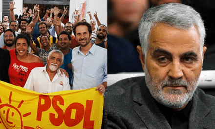 PSOL emite comunicado em favor ao Irã e condenado ataque dos EUA que matou o terrorista Soleimani
