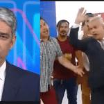 """Vídeo: Em seu programa, Sikera Júnior ironiza Globo após notícia sobre Bolsonaro e japonesa: """"Isso é um absurdo! Renúncia!"""""""