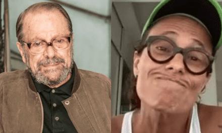 """Após Zélia Duncan criticar Regina Duarte, Carlos Vareza sai em defesa da atriz: """"Bom é o Lula e a Dilma, não é, Zélia?"""""""