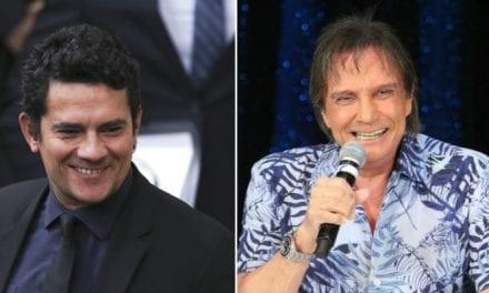 Após expôr apoio a Bolsonaro, Roberto Carlos rasga elogios a Sergio Moro e Paulo Guedes