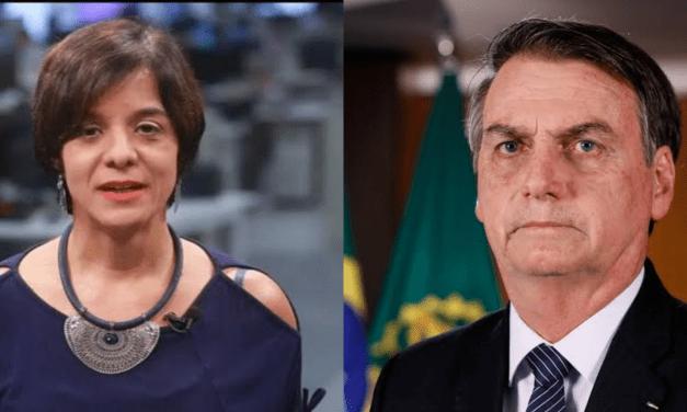 """Jornalista afirma que vomitou três vezes ouvindo Bolsonaro: """"Ontem vomitei 3 vezes ao ouvir o presidente"""""""