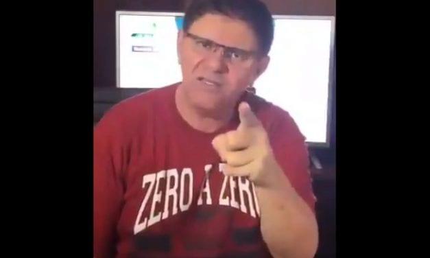 Humorista Batoré grava vídeo pedindo a Bolsonaro que feche o Congresso e o STF