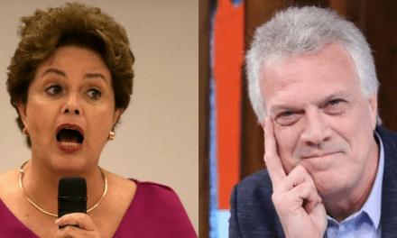 Após Bial criticar documentário petista sobre impeachment, Dilma o acusa de 'misoginia' e 'sexismo'