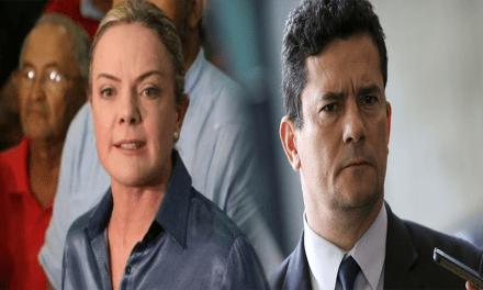 Gleisi Hoffmann faz acusação gravíssima contra Sérgio Moro