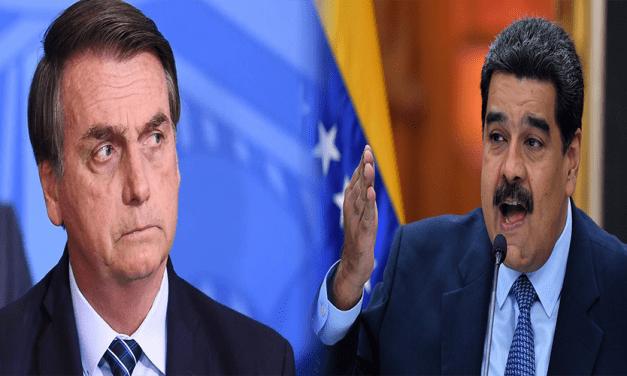 Ditador da Venezuela fala em 'conflito armado' contra o Brasil