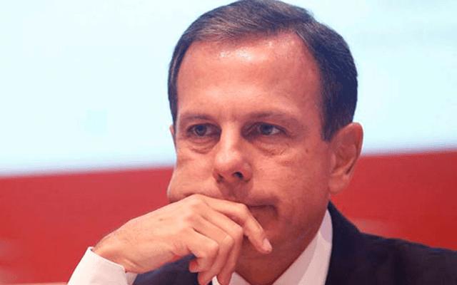 """João Dória está """"muito preocupado"""" com os protestos do dia 15/03"""