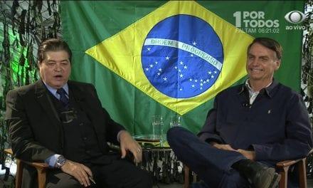 Datena dispensa apoio de Bolsonaro e se filiará ao MDB