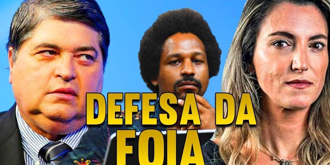 """Datena faz defesa de jornalista da Folha e diz que Hans River """"tem que ir pra cadeia"""""""
