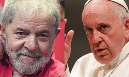 Lula viaja nesta terça-feira para encontro com Papa Francisco