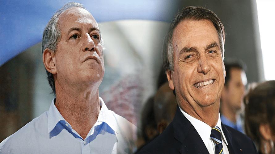 Ciro Gomes é ignorado por Bolsonaro após ofensas