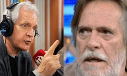 """Augusto Nunes não pega leve com José de Abreu: """"Cafajeste na novela e vida real, um coadjuvante vocacional e incurável"""""""