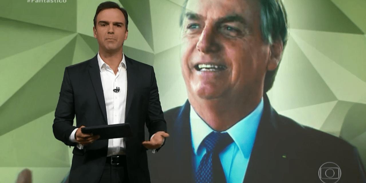 Fantástico dedica um bom tempo da sua programação para atacar Bolsonaro e manifestações