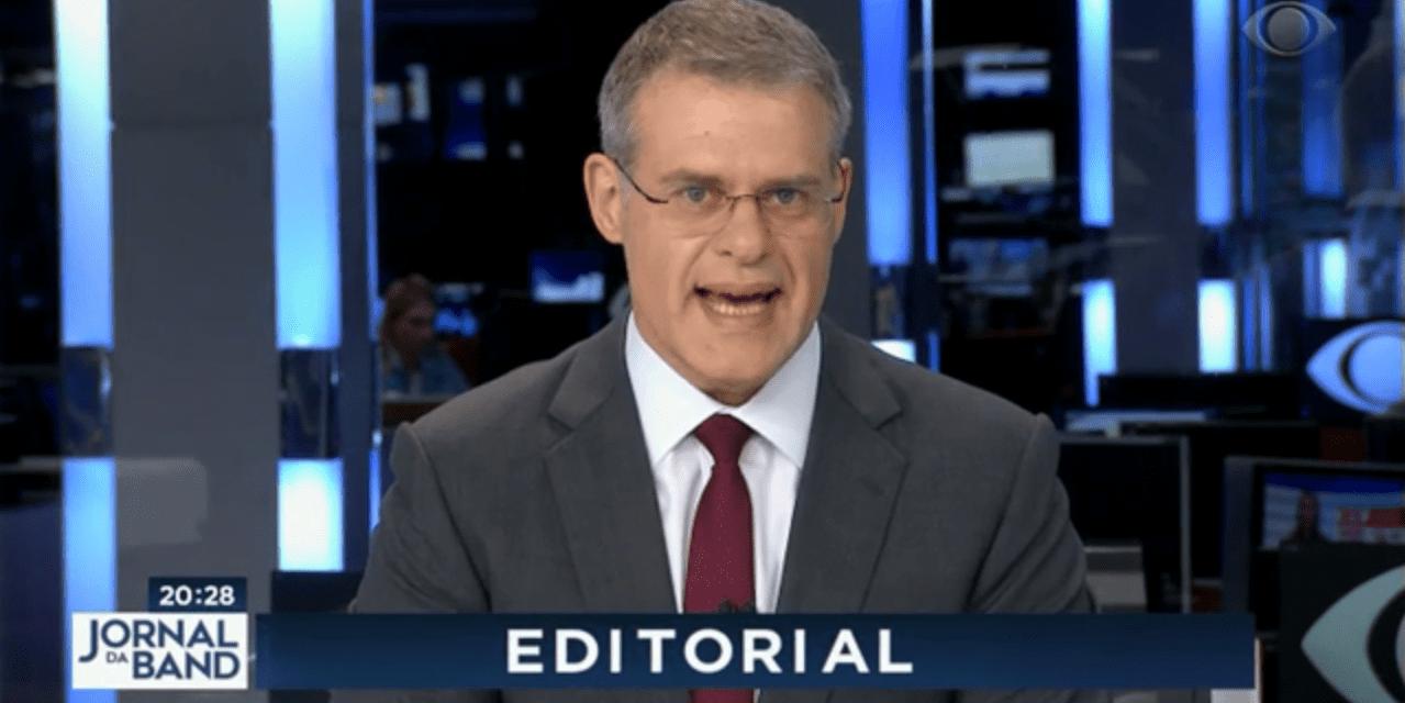 Grupo Bandeirantes chama Eduardo Bolsonaro de irresponsável e Ernesto Araújo de idiota