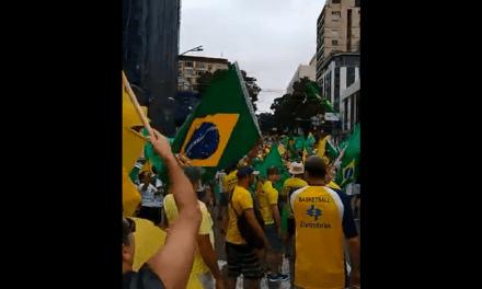 O povo já está nas ruas em Belém do Pará