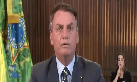 Vídeo: Em cadeia Nacional, Bolsonaro fala sobre o Coronavírus e as manifestações do dia 15 de Março