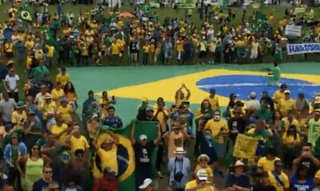 #Bolsonaroday: Manifestação em Brasília/DF
