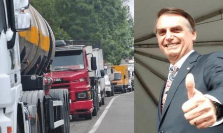 Ala de caminhoneiros deseja aderir e participar das manifestações pró-Bolsonaro do dia 15