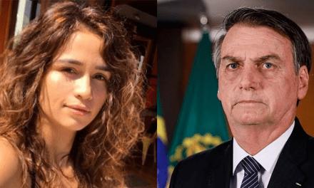 """Revoltada com o presidente, atriz global Nanda Costa chama Bolsonaro de """"irresponsável"""" e """"assassino"""""""