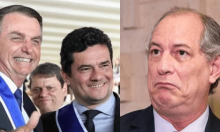 """Ciro Gomes ataca Bolsonaro, chama Sergio Moro de 'capanga', e leva resposta irônica do presidente: """"Não somos psiquiatras"""""""