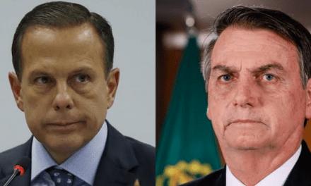 """Doria volta a atacar Bolsonaro: """"Gostaria de ter um presidente que liderasse o país"""""""