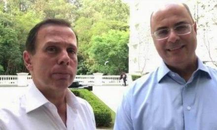 Witzel e Doria analisam decreto sobre coronavírus que pode vir a proibir manifestações