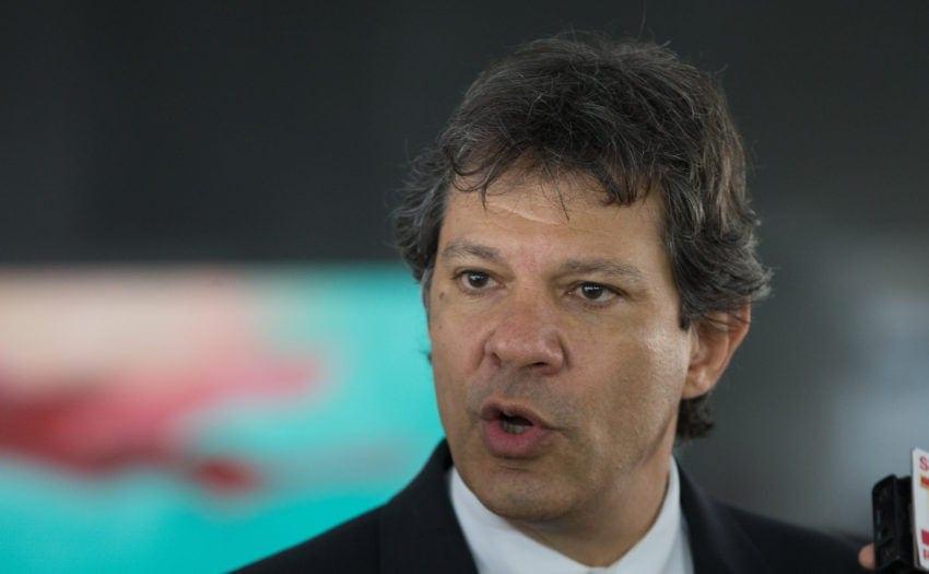 """Fernando Haddad:""""Bolsonaro, você não é presidente mais"""""""