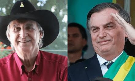 """Cantor Sergio Reis convoca população ás ruas em apoio a Bolsonaro: """"Vamos mostrar orgulho que temos do nosso presidente"""""""