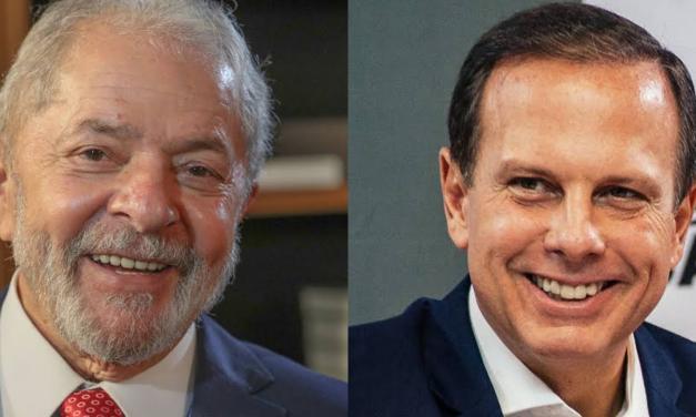 """Doria e Lula deixam """"diferenças"""" de lado, e trocam elogios através das redes sociais"""