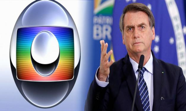 Sem citar nome, Bolsonaro acusa a Rede Globo de enganar a população e espalhar histeria