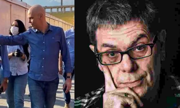 """""""Por que o Prefeito de SP, fazendo quimioterapia, pode andar no meio do povo e o presidente não?"""" Questiona Roger Moreira"""